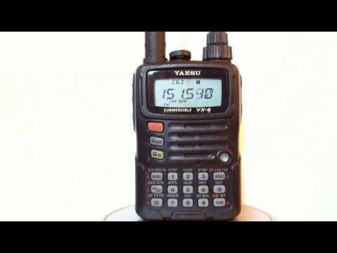 Yaesu VX-6R HD Demo