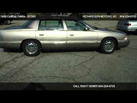 1999 Cadillac Deville Concours - for sale in ANDERSON, SC 29624