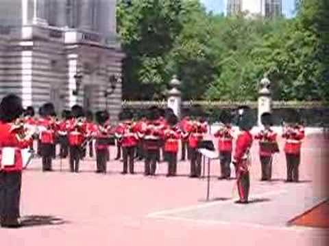Buckingham Palace Marching Band Playing the Imperial March Video