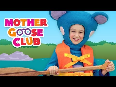 Row Row Row Your Boat   Mother Goose Club Nursery Rhymes