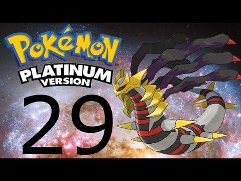 Let's Play Pokemon Platinum Pl #29 - Wszędzie Śnieg