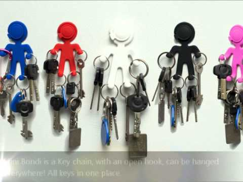 Mini Bondi - Flexible Key Holder