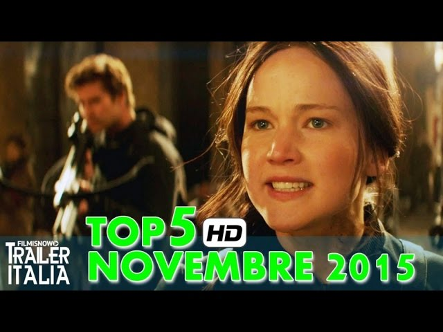 TOP 5 Film in Uscita Novembre 2015 [HD]