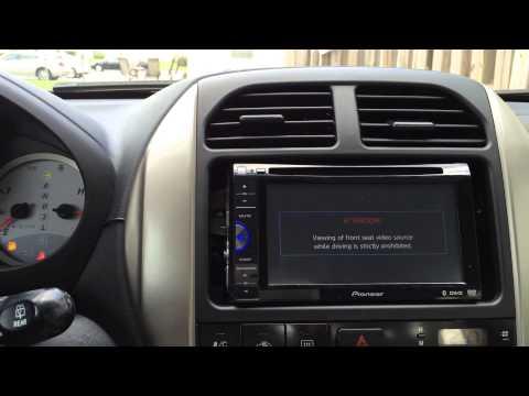 Pioneer AVH-200BT DVD Receiver Installation Toyota RAV4   #ProjectRavFEL™