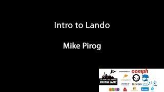 Intro to Lando