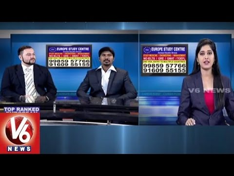 Career Point | Study MBBS & Engineering in Europe | Europe Study Center | V6 News