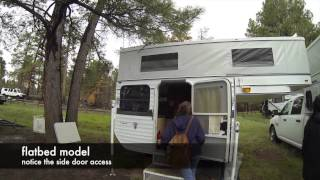 low center of gravity truck bed campers by Four Wheel Campers :Overland Expo 2015