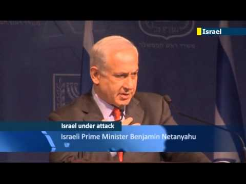 Israel under attack: tough talk from Netanyahu as Gaza rocket bombardment continues