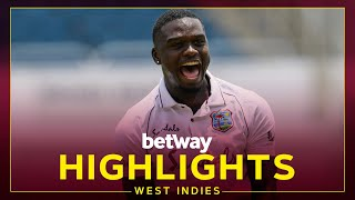 Highlights   West Indies v Pakistan   1st Test Day 3   Betway Test Series presented by Osaka