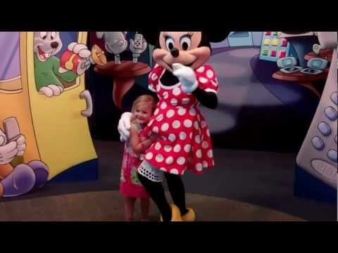 Walt Disney World Epcot Character Spot Mickey, Minnie + more 2012  HD