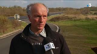 Bernard Giraud St Agnant après l'accident mortel