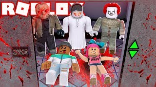 ESCAPE OR DIE!! - Roblox Horror Elevator