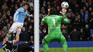 Manchester City vs Borussia monchengladbach  melhores momentos 08/12/2015