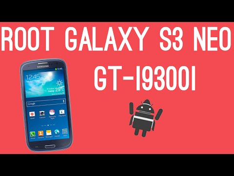 ROOT SAMSUNG GALAXY S3 NEO GT-I9300I  [4.4.4 KITKAT ROOT]