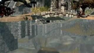 Skyrim How to Fall Under the Map - Whiterun -