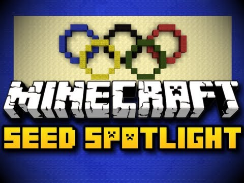 Minecraft Seed Spotlight #17 - 2012 OLYMPICS! (HD)