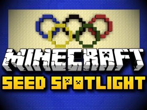 Minecraft Seed Spotlight #17 - 2012 OLYMPICS! (HD)
