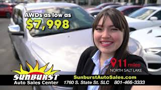 Sunburst Auto Sales - The best vehicles, for the perfect price!