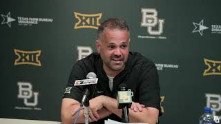 Coach Rhule Post-Game Press Conference vs. Texas 10/13/2018