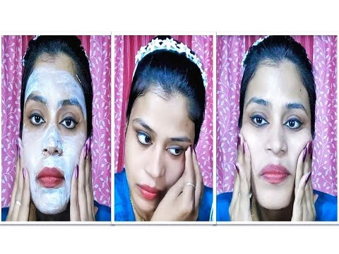 VLCC party glow facial kit step by step live demonstration and live result