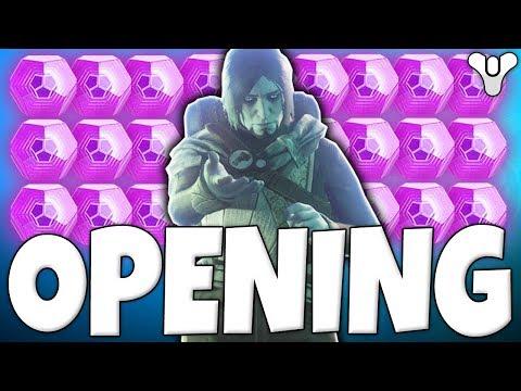 Destiny 2 - AMAZING LOOT!! Opening 30 Dead Orbit Faction Engrams - Spending 600 Tokens!