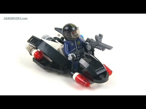 LEGO Movie 30282 Super Secret Police Enforcer polybag set Review!