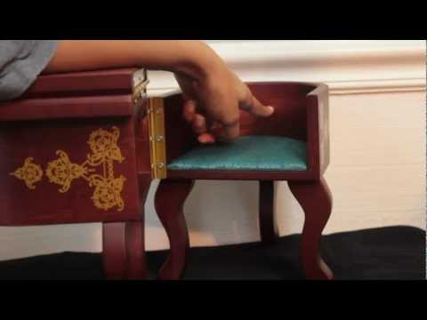 American Girl Doll Furniture Review: Cecile's Parlor Desk (Retired)