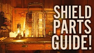 DEAD OF THE NIGHT: HOW TO BUILD THE SHIELD (ALL LOCATIONS SHIELD GUIDE Black Ops 4 Zombies)