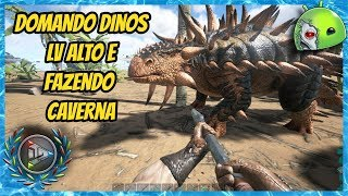 ARK MOBILE DOMANDO DINOS LEVEL 450 NO BRUTAL PVP - GAMEPLAY #93