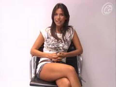 Lizzi Benites, a Piu: piu do P�nico, participa de videochat