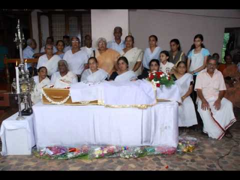 Funeral Of Thankamma Varghese video
