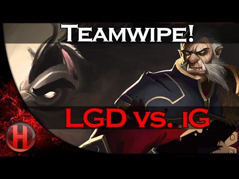LGD Teamwipe iG | D2CL Season 5 Dota 2