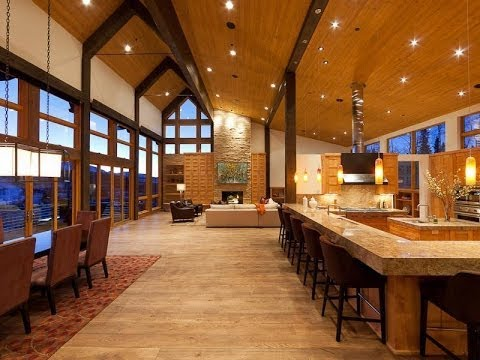 Iconic Mountain Modern Home In Telluride Colorado Youtube