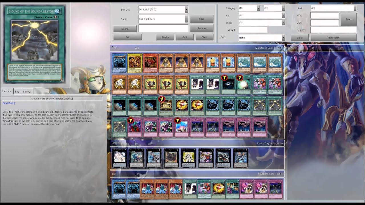 Yugioh Egyptian God Deck 2015 Yugioh Egyptian God Card Deck