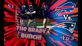 The Brady Bunch! - ESPN 2k5 Franchise S1 Ep.3! (Buffalo Bills)