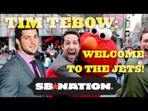 Tim Tebow: Welcome to the New York Jets!