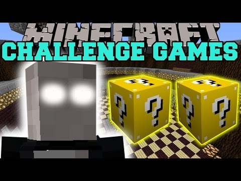 Minecraft: SLENDERMAN CHALLENGE GAMES — Lucky Block Mod — Modded Mini-Game