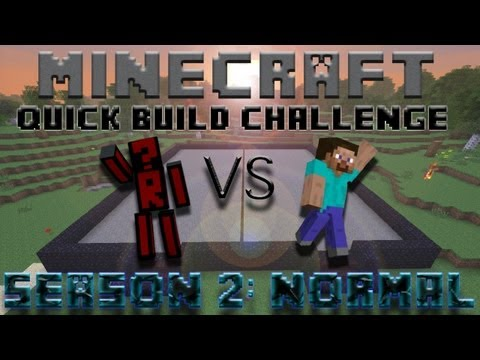 Minecraft Quick Build Challenge - Topic Hint: Strike!