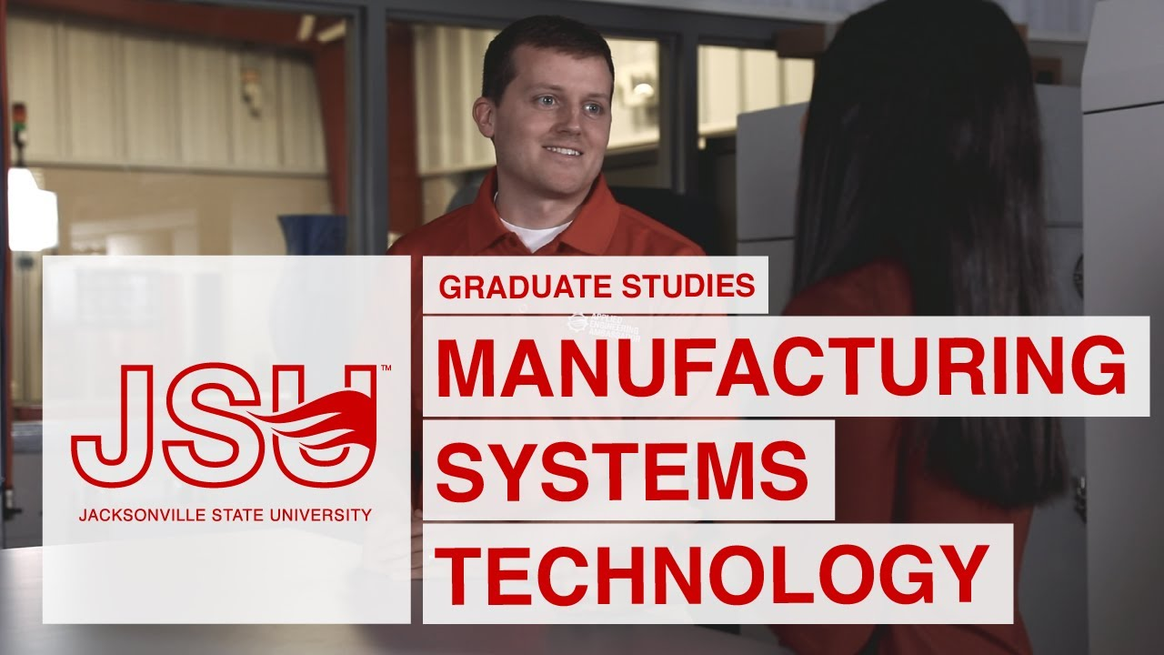 Online MS Program in Manufacturing Systems Technology