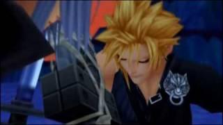 Cloud and Tifa Kingdom Hearts II ALL Scenes