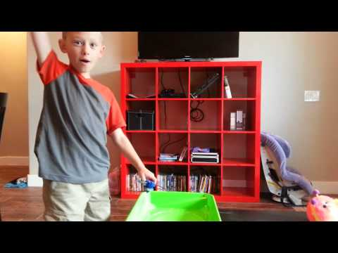 Epic Beyblade battle/Dylan & Tabor