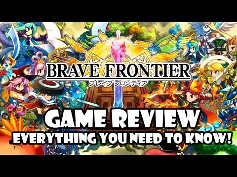 Brave Frontier - Everything You Need To Know! - GamePlay Review Cheat Guide - Android iOS