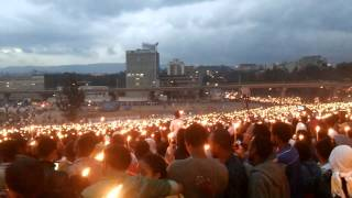 finding of true cross celebration in Addis Ababa - የአደመራ በአል አከባበር በአዲስ አበባ