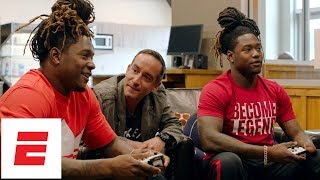 Shaquem and Shaquill Griffin play Madden with Sam Alipour   ESPN