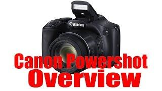 01. Canon Powershot Overview Tutorial (ELPH, SX400, SX510, SX610, SX710, SX60)