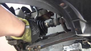 VW wheel bearing replacement and bad bearing noise and sypmtoms