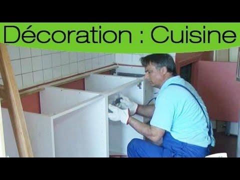comment enlever les meubles de votre cuisine youtube. Black Bedroom Furniture Sets. Home Design Ideas