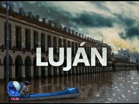 El río sigue creciendo en Luján - Telefe Noticias
