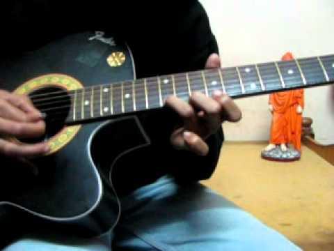JACKIE(2010) ---SHIVA ANTA OR EKKA RAJA RANI  SONG ON GUITAR