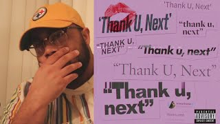 "ARIANA GRANDE - ""Thank you, next"" REACTION!!!"